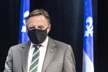 Port du masque obligatoire à Montréal: François Legault n'a pas été consulté )