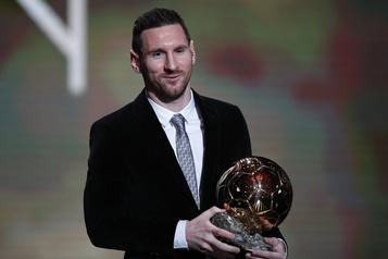 Lionel Messi remporte son sixième Ballon d'Or