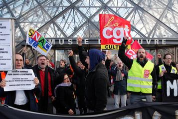 Réforme des retraitesen France: actions ciblées au 44ejour de grève