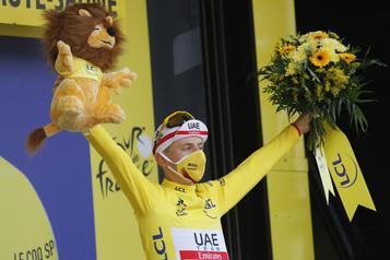 Tour de France Hugo Houle: «C'est pour ça qu'on aime le sport» )