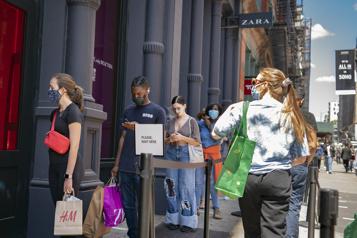 États-Unis Les consommateurs s'attendent à voir les prix continuer à grimper)