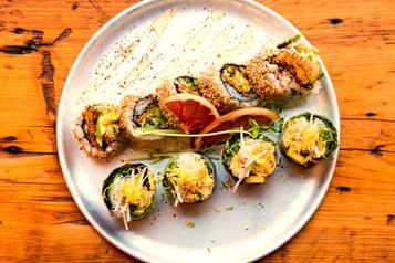 Sata Sushi devient 100% végane