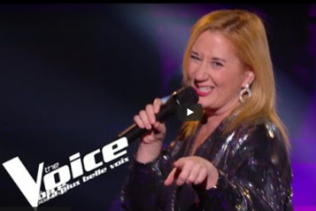 La fin de l'aventure pour Anik St-Pierre à The Voice France)