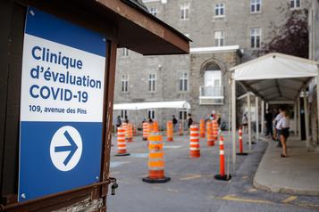 COVID-19: la proportion de cas positifs en hausse à Montréal)