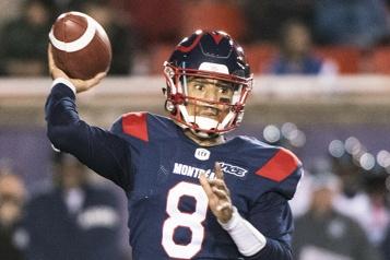 Alouettes Vernon Adams fils est déjà rentré à Montréal en vue de la saison)