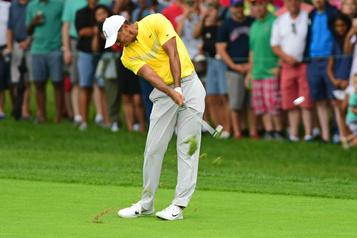 Tiger Woods opéré au genou gauche