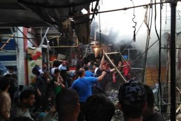 Entre 28 et 30morts Attentat sanglant sur un marché de Bagdad à la veille d'une fête musulmane)