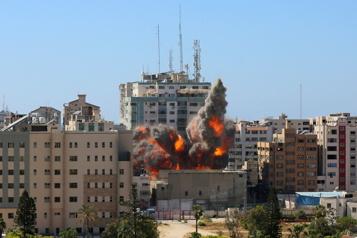 Tour abritant des médias à Gaza Une cible qui suscite de vives critiques)