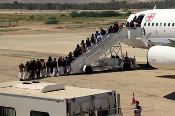 Vaste échange de prisonniers de guerre au Yémen)