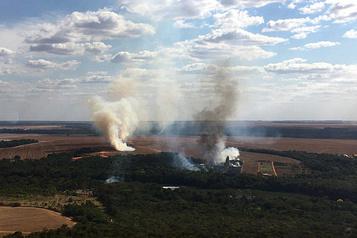 Brésil: record d'incendies en juillet au Pantanal)