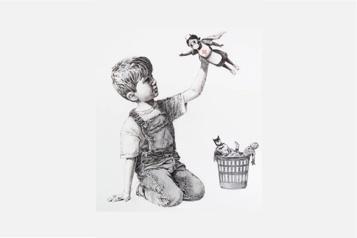 Royaume-Uni Une œuvre de Banksy aux enchères au profit du service de santé)