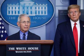Pandémie: l'Amérique préfère écouter le docteur Fauci plutôt que Trump)