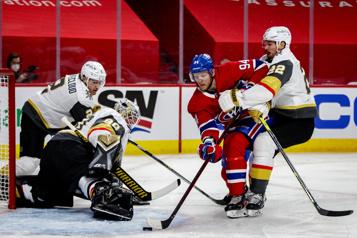 2e entracte GoldenKnights0 – Canadien1)