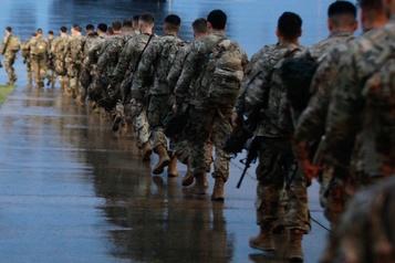 Tir d'une roquette contre une base irakienne abritant des soldats américains