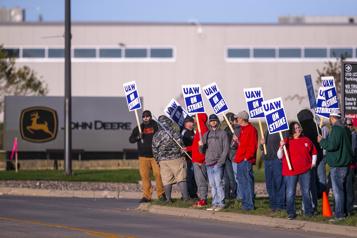 Grève pour 10000salariés de John Deere
