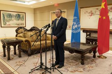 COVID-19 Acrimonie sino-américaine à l'ONU)
