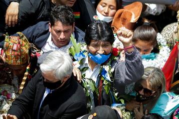 Evo Morales de retour en Bolivie après un an d'exil)