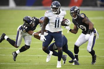 Éliminatoires de la NFL Choc Ravens-Titans pourlancer les hostilités)