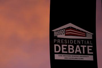 Suivez le premier débat présidentiel avec Charles-Philippe David)