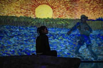 Imagine Van Gogh à Québec: les billets sont en vente)