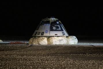 Station spatiale internationale Nouveau vol d'essai de la capsule Starliner de Boeing en juillet)