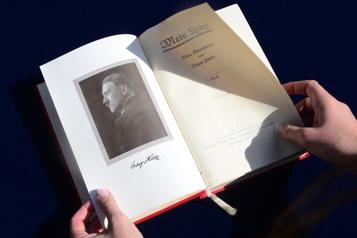 Une édition critique de «Mein Kampf» bientôt en librairie)