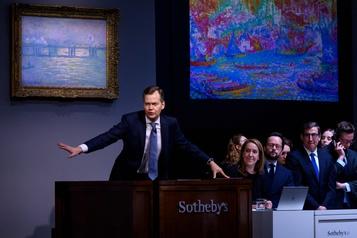 De grandes ventes aux enchères sans public chez Sotheby's)