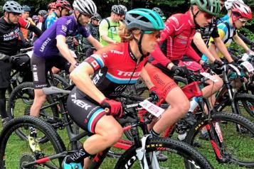 Vélo de montagne Cindy Montambault garde espoir pour les JO de 2024)
