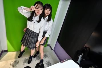 Le photomaton des jeunes Japonaises survit à l'égoportrait)