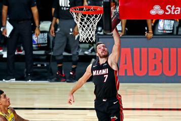 Heat de Miami au bord de l'élimination Goran Dragic «toujours douteux» pour le match de vendredi)