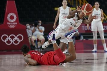 Basketball féminin La Serbie défait le Canada en basketball féminin)