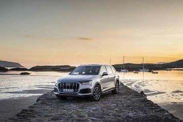 Banc d'essai Audi Q7 2020 - Nouveau souffle
