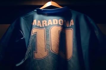 Six reliques de Maradona mises aux enchères en Italie)
