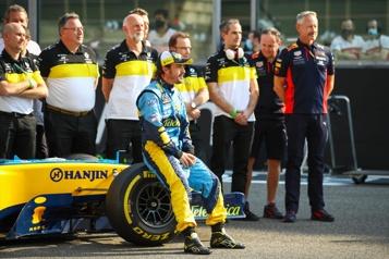 Formule 1 Fernando Alonso le plus rapide aux essais d'après-saison)
