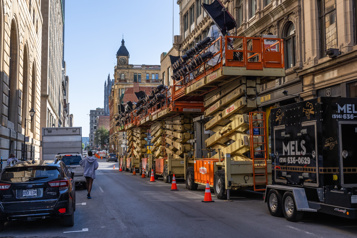 Le tournage de Transformers se poursuit à Montréal)