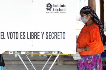 Législatives au Mexique Le parti du président Andres Manuel Lopez Obrador affaibli)