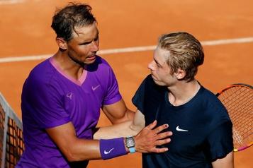 Tournoi de Rome Nadal vient à bout de Shapovalov, Auger-Aliassime éliminé)