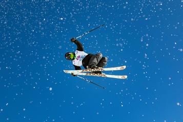 Ski acrobatique Philippe Langevin heureux de renouer avec la compétition)