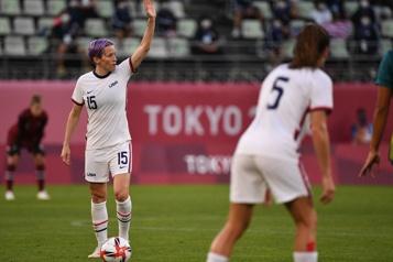Soccer féminin L'équipe des États-Unis se qualifie pour les quarts)