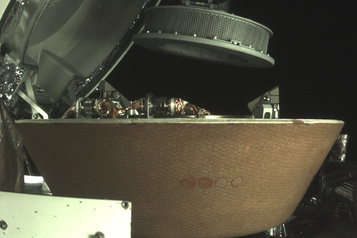 Poussières de l'astéroïde Bennu La sonde Osiris-Rex a réussi à sécuriser sa cargaison)
