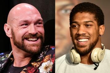Boxe Anthony Joshua a «besoin» de combattre Tyson Fury)
