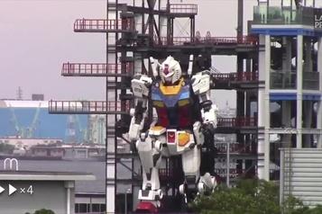 Japon Un robot de 25 tonnes effectue ses premiers mouvements)