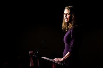 Caroline Mulroney dans une soirée de motivation des conservateurs