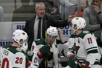 Dean Evason devient officiellement l'entraîneur-chef du Wild)