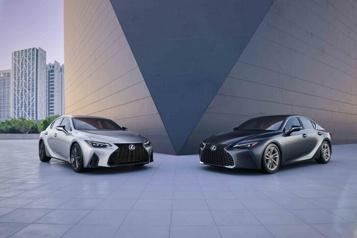 Banc d'essai Lexus IS : une refonte subtile)