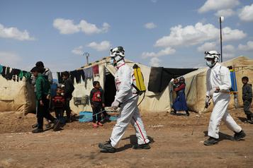 COVID-19: les enquêteurs de l'ONU demandent un cessez-le-feu en Syrie