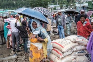 éthiopie L'aide humanitaire arrive pour contrer les menaces de famine au Tigré)