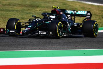 GP de Toscane: Bottas devance Hamilton aux essais)