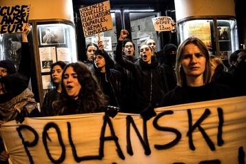 Des féministes bloquent une avant-première du film de Polanski