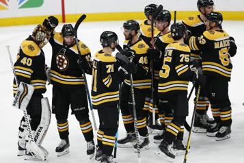 Quatrième victoire de suite des Bruins, qui défont les Capitals6-3)